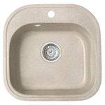 Кухонная мойка Formastone Fosto  КМ 48-49, квадратная, бискотти