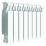 Радиатор биметаллический Rifar MVR500/08, межцентровое расстояние 500 мм, 8 секций