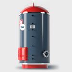 Электрический промышленный водонагреватель 9BAR SV 3000 / 6 БАР