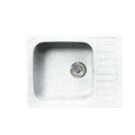 Кухонная мойка Formastone Fosto  КМ 64-49, прямоугольная с крылом, метель