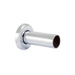 Маскировочная трубка Schlosser с розеткой, длина 80 мм, хром d-22 мм