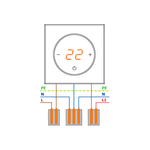 Термодатчик DeLUMO проводной для терморегулятора