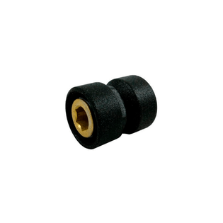 Резьбовое соединение Schlosser для стальных труб черное GW M22x1,5 x GW 1/2