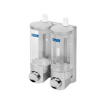 Дозатор для жидкого мыла BXG SD -2006 С (2х 0,4L) (изделие из пластмассы)