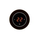 Терморегулятор DeLUMO RONDA 9005 Black Classic