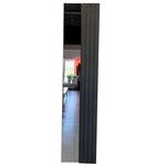 Дизайн-радиатор КЗТО Зеркало Соло С2-1500-0-4 исполнение 1