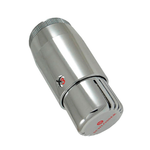 Термостатическая головка Schlosser MINI Diamant  M30x1,5, Хром