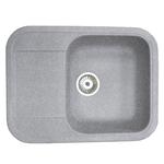 Кухонная мойка Formastone Fosto  КМ 61-47, прямоугольная с крылом, искристый серый