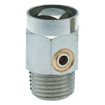 """Воздухоспускной клапан Hummel R1/8"""" привод в действие с помощью ключа, никелированная латунь"""