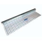 Прозрачная полиэтиленовая пленка, рулон 90м2, 60м х 1,5м х 0,2мм, с маркировкой сеткой 50х50мм, HENC