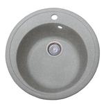 Кухонная мойка Formastone Fosto КМД 51 К, искристый серый