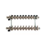 Распределительная гребенка Oventrop Multidis SF, 10 х G ¾ с вентильными вставками