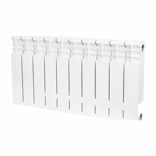 Радиатор биметаллический STOUT Space 350, 10 секций боковое подключение
