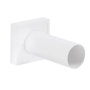 Комплект маскировочных розеток Schlosser с двумя трубками, для труб РЕХ 16*2мм и CU 15*1мм, Белый