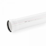 Канализационная труба Rehau диаметром 50/1000 мм