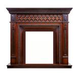Деревянный портал Dimplex Alexandria 1146х1273х420 - махагон коричневый антик