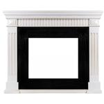 Деревянный портал Dimplex America 1110x1315x380 - Белый дуб с патиной