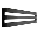 Радиатор-полотенцесушитель IRSAP STEP H горизонтальный 1500/430, водяной, cod.2E, цвет черный хром
