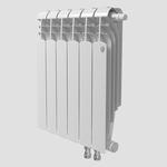 Секционный биметаллический радиатор Royal Thermo Vittoria Super 500 VD, количество секций 1