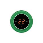 Терморегулятор DeLUMO RONDA 1164 Green Luminous