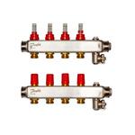 Коллекторы Danfoss SSM-4 для 4 контуров