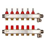 Коллекторы Danfoss SSM-6 для 6 контуров