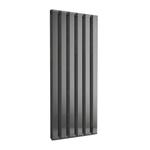Радиатор-полотенцесушитель IRSAP STEP V вертикальный 1800/910, водяной, cod.2E, цвет черный хром