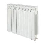 Радиатор биметаллический Rifar MVR500, 7 секций, нп прав, межцентровое расстояние 80 мм