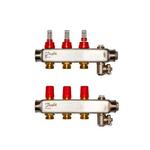 Коллекторы Danfoss SSM-3F с расходомерами, 3 контура