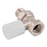 Ручной вентиль с муфтой Schlosser DN 15 1/2 GZ * 1/2 GW проходной