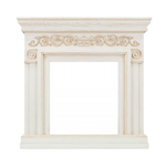 Деревянный портал Dimplex Athena 995x1025x345 - Слоновая кость с патиной