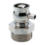 """Воздухоспускной клапан Hummel G1/4"""" привод в действие с помощью ключа, никелированная латунь"""