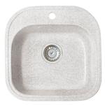 Кухонная мойка Formastone Fosto  КМ 48-49, квадратная, олово