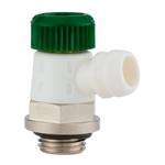 """Спускной вентиль Hummel G1/4"""" привод в действие с помощью ключа с аксиально-поворотным выпуском воды"""