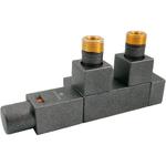 Термостатический узел Schlosser Duo-plex Square 6059, Ral