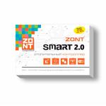 Отопительный GSM / Wi-Fi контроллер ZONT SMART 2.0 на стену и DIN-рейку