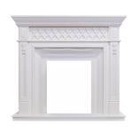 Деревянный портал Dimplex Alexandria 1146х1273х420 - Белый дуб