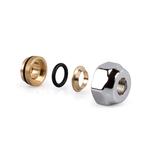 Фитинг SR Rubinetterie для медной трубы, герметичный O-Ring, Ø15x24/19, цвет бронза