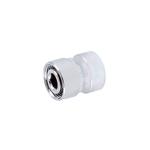 Резьбовое соединение Schlosser для стальных труб хром GW M22x1,5 x GW 1/2