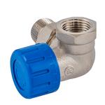 Клапан термостатический Schlosser DN15 1/2  x GW 1/2 трехосевой, левый