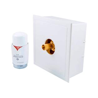 Комплект Schlosser белый с термостатической головкой RTL G3/4