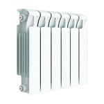 Радиатор биметаллический Rifar MVR500/07, межосевое расстояние 500 мм, 7 секций