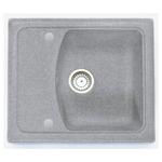Кухонная мойка Formastone Fosto  КМ 58-50, прямоугольная с крылом,искристый серый