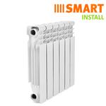 Алюминиевые радиаторы Smart Install
