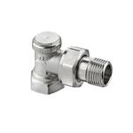 """Радиаторный запорно-регулирующий клапан Heimeier Regutec F, DN15(1/2""""), угловой"""