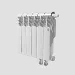 Секционный биметаллический радиатор Royal Thermo Vittoria 350 VD, количество секций 1