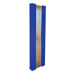 Дизайн-радиатор КЗТО Зеркало Параллели П2-1500-1-7 шаг 25 исполнение 1