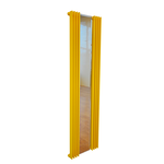 Дизайн-радиатор КЗТО Зеркало Параллели П1-1500-1-7 шаг 25 исполнение 1