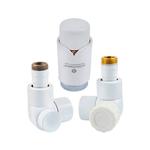 Комплект термостатический Schlosser Lux Белый Форма осевая, правый GZ 1/2 x GW 1/2