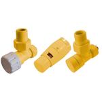 Комплект термостатических клапанов Schlosser Elegant 6042, Ral